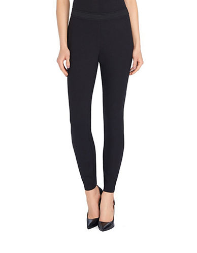 Ellen Tracy Ponte Leggings-BLACK-Small 87919302_BLACK_Small