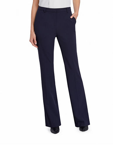 Ellen Tracy Signature Bootcut Pants-BLUE-2