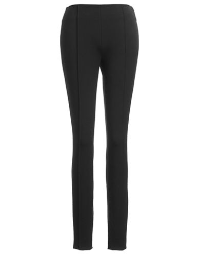 Vince Camuto Tailored Fit Pleated Trousers-BLACK-6