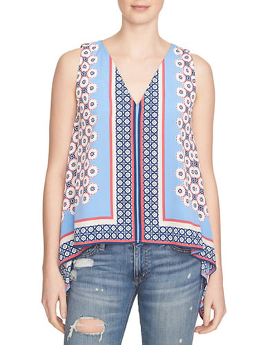 1 State Sleeveless Hi-Lo Tunic Top-BLUE-Small 88397539_BLUE_Small