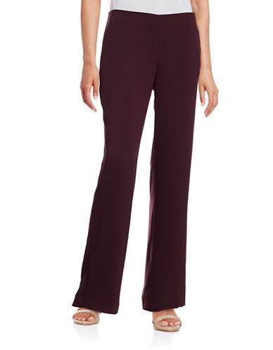 Vince Camuto Wide-Leg Pants-PURPLE-4 plus size,  plus size fashion plus size appare