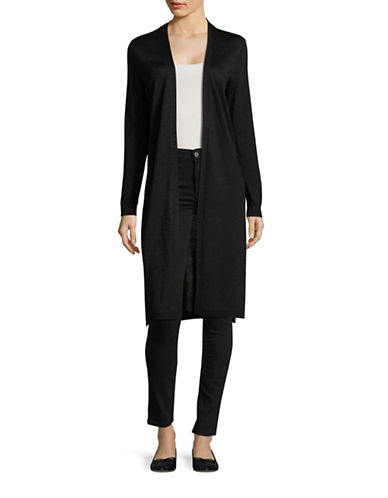 Vince Camuto Metallic Cardigan-BLACK-Small 88855873_BLACK_Small