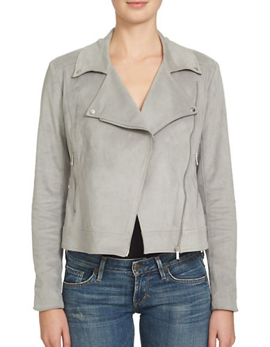 1 State Long Sleeve Moto Jacket-GREY-Medium 88843950_GREY_Medium
