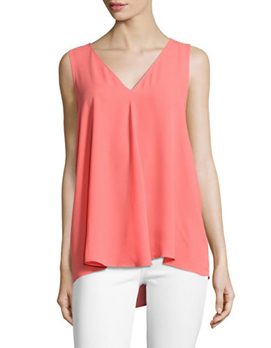 Vince Camuto Draped Shell Top-PINK-Small 88960651_PINK_Small