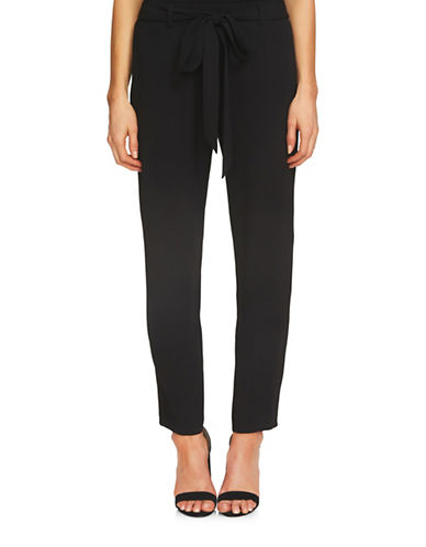 Cece Moss Crepe Trousers-BLACK-4
