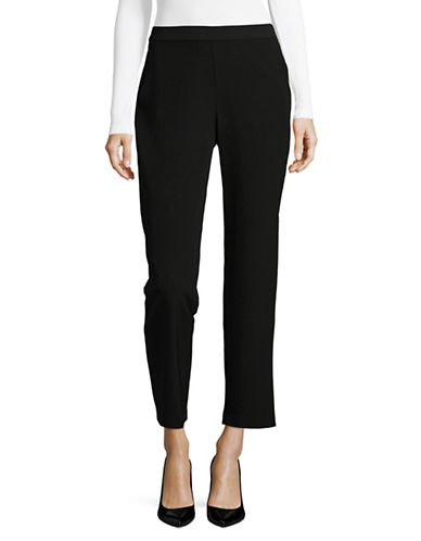 Vince Camuto Milano Slim Trouser-BLACK-Small