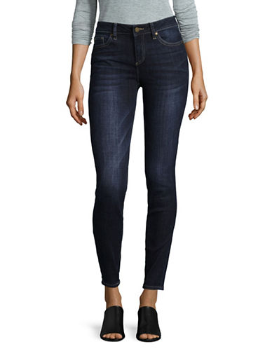 Two By Vince Camuto Indigo Five-Pocket Skinny Jeans-BLUE-33