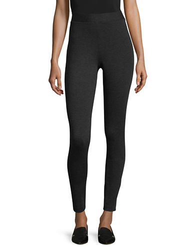 Vince Camuto Ponte Performance Leggings-GREY-Large
