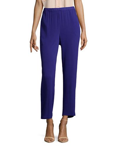 Vince Camuto Slim Leg Trousers-BLUE-Medium