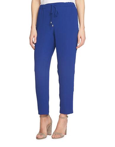 Cece Crepe Ankle Pants-BLUE-4