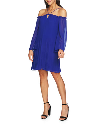 Cynthia Steffe Ella Off-the-Shoulder Dress-SAPPHIRE-10