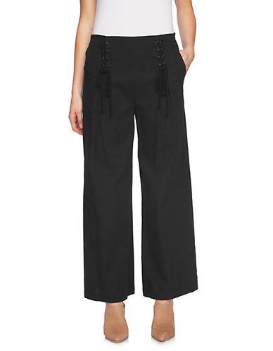 1 State Lace-Up Wide-Leg Pants-BLACK-Medium 90091115_BLACK_Medium