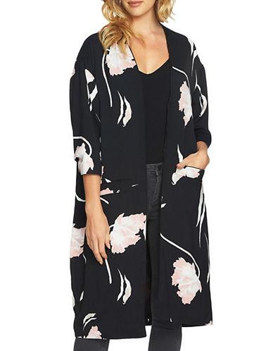 1 State Floral Print Kimono-PINK-Medium