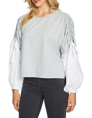 1 State Blouson Sweatshirt-GREY-Medium 89744842_GREY_Medium