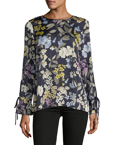 Vince Camuto Country Floral Flare Cuff Top 89913171