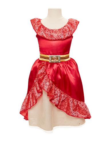 Disney Elena Adventure Dress-RED-One Size