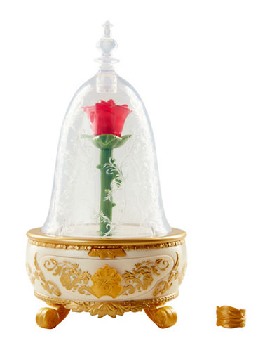 Disney Beauty and the Beast Enchanted Rose Jewelry Box-MULTI-One Size