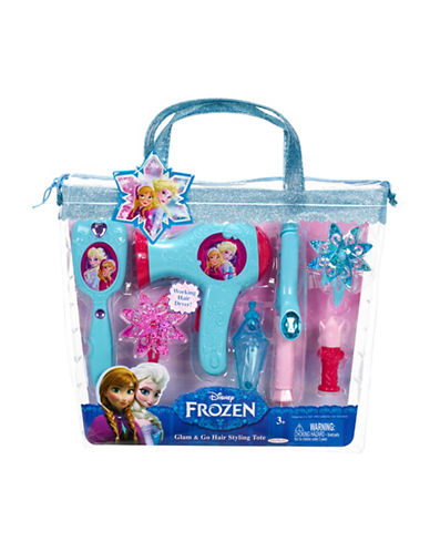 Disney Frozen Hair Styling Tote-BLUE-One Size