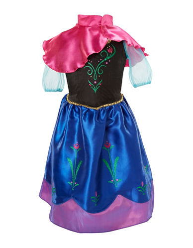 Disney Frozen Anna Dress-BLUE-One Size
