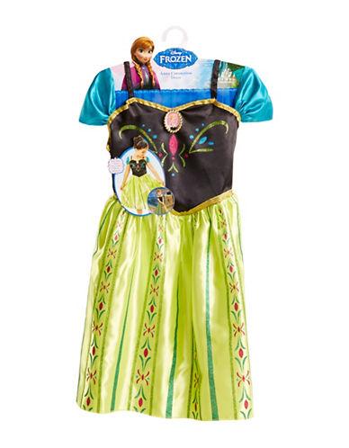 Disney Frozen Anna Coronation Dress-GREEN-One Size
