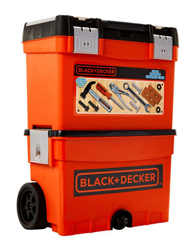 Black And Decker Black & Decker Jr Rolling Storage Case-MULTI-One Size