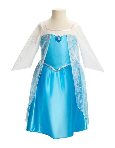 Disney Frozen Elsa Dress-BLUE-One Size