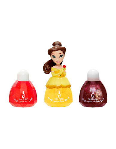 Disney Princess Belle Nail Polish-YELLOW-One Size