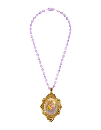 Disney Princess Rapunzel Snow Globe Necklace-PURPLE-One Size