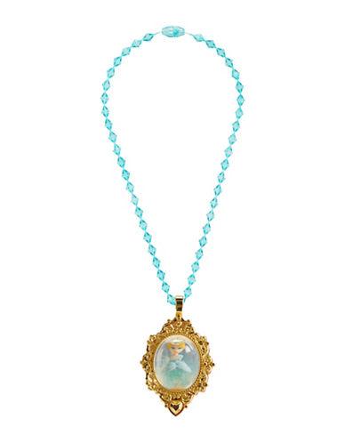 Disney Princess Cindy Snow Globe Necklace-BLUE-One Size