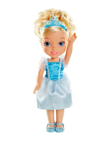 Disney Princess Toddler Cinderella Doll-BLUE-One Size