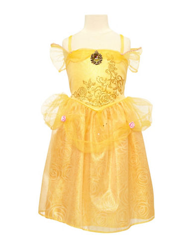 Disney Princess Belle Friendship Adventure Dress-YELLOW-One Size