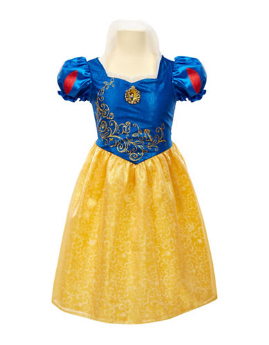 Disney Princess Snow White Friendship Adventure Dress-BLUE-One Size