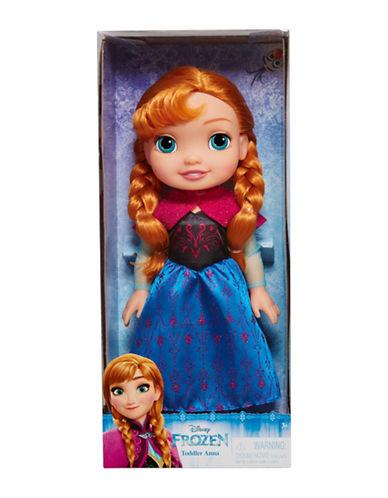 Disney Frozen Toddler Anna Doll-BLUE-One Size