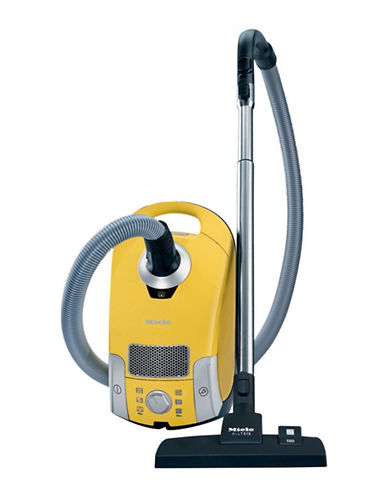 Miele Compact C1 Celebration Canister Vacuum-YELLOW-One Size