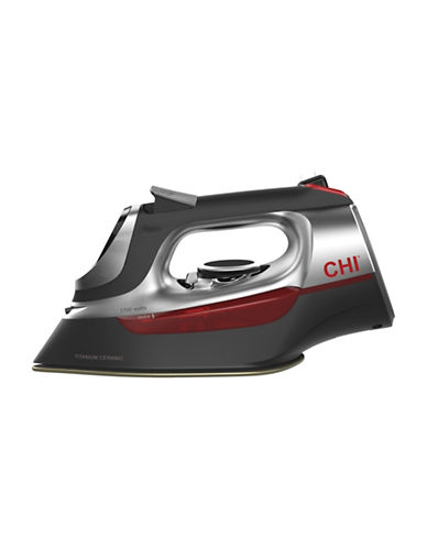 Chi Retractable Cord Electronic Full-Size Iron-GREY-One Size