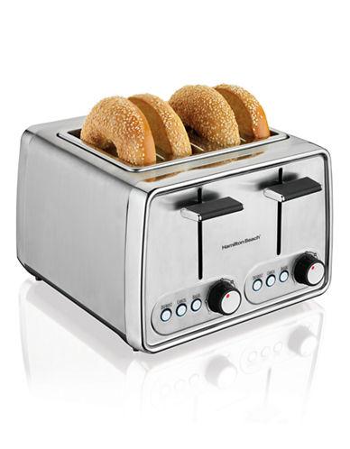 Hamilton Beach 4 Slice Chrome Toaster-STAINLESS STEEL-One Size