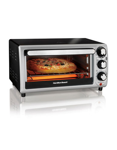 Hamilton Beach 4-Slice Toaster Oven-BLACK-One Size