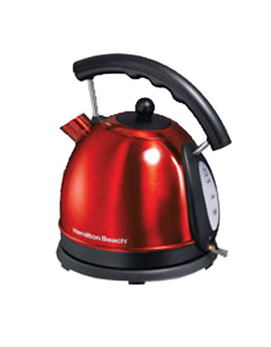 Hamilton Beach 1.7L Dome Electric Kettle-RED-One Size