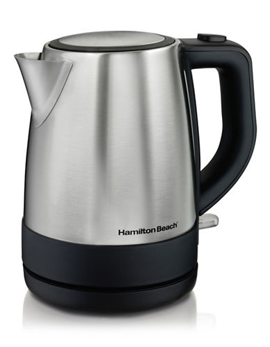Hamilton Beach One-Litre Stainless Steel Kettle-SILVER-One Size