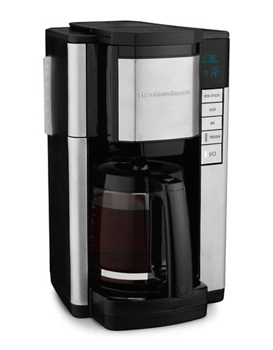Hamilton Beach Programmable Easy Access Plus Coffee Maker-BLACK-One Size