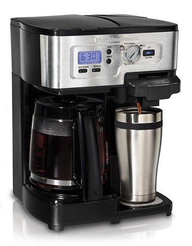 Hamilton Beach 2 Way FlexBrew Coffeemaker-BLACK-One Size 86261848_BLACK_One Size