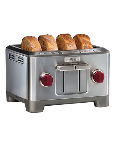 Wolf Gourmet Four-Slice Toaster-STAINLESS STEEL-One Size
