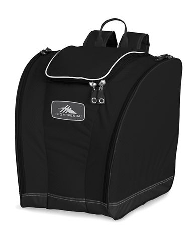 High Sierra Performance Series Trapezoid Boot Bag-BLACK-One Size