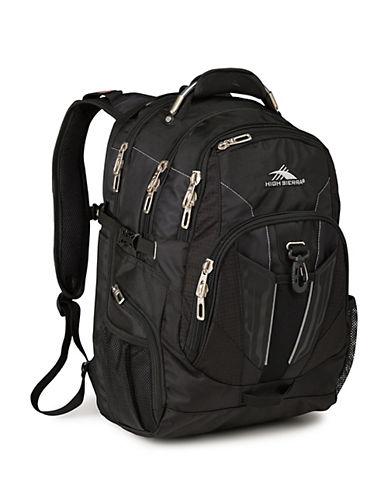High Sierra XBT TSA Backpack-BLACK-One Size