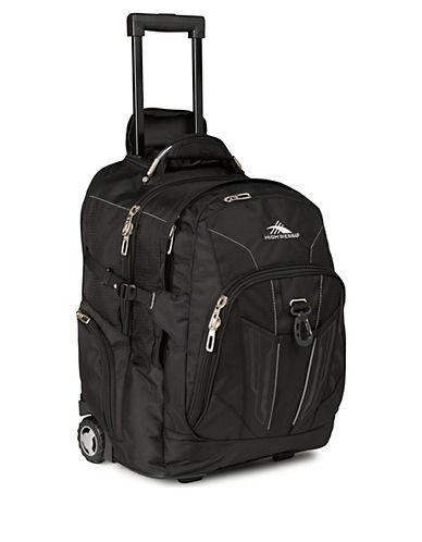 High Sierra XBT Wheeled Backpack-BLACK-One Size