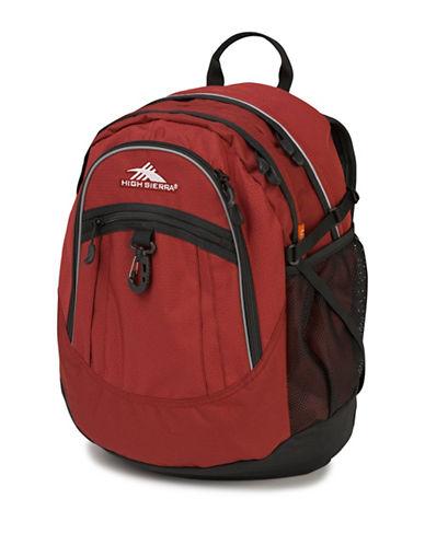 High Sierra Fatboy Contrast-Trimmed Backpack-ORANGE-One Size