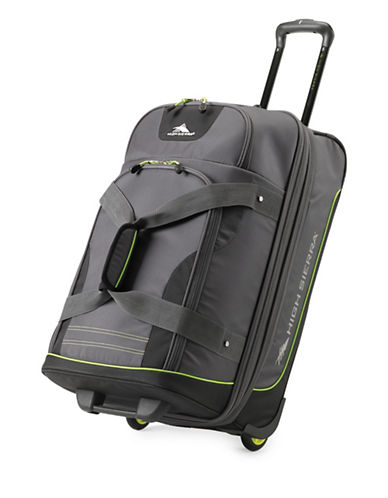 High Sierra 31-Inch Breakout Duffle Upright Extra Large Luggage-BLACK-30