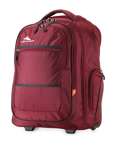 High Sierra Rev Wheeled Backpack-CRANBERRY-21