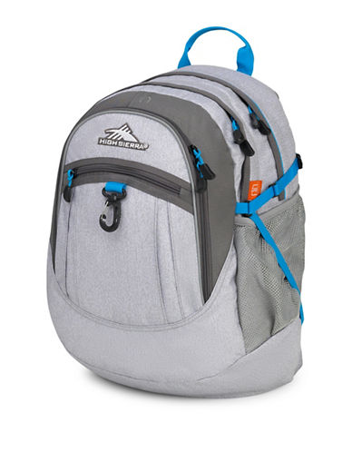High Sierra Fatboy Jersey Backpack-GREY-One Size