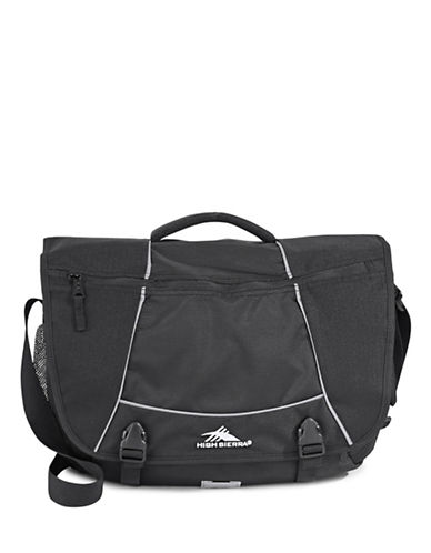 High Sierra Tank Messenger Bag-BLACK-One Size